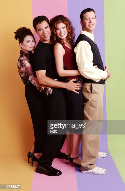 Megan Mullally as Karen Walker Eric McCormack as Will Truman Debra Messing as Grace Adler Sean Hayes as Jack McFarland Photo by Chris Haston/NBCU...