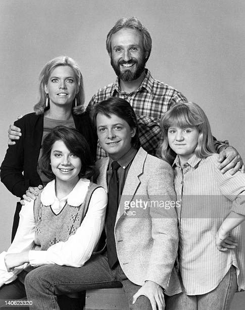 Meredith Baxter as Elyse Keaton Justine Bateman as Mallory Keaton Michael J Fox as Alex P Keaton Michael Gross as Steven Keaton Tina Yothers as...