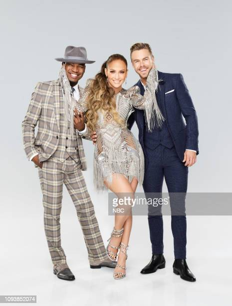 3 Pictured NeYo Jennifer Lopez Derek Hough
