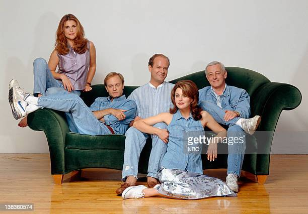 Peri Gilpin as Roz Doyle David Hyde Pierce as Dr Niles Crane Kelsey Grammer as Dr Frasier Crane Jane Leeves as Daphne Moon John Mahoney as Martin...