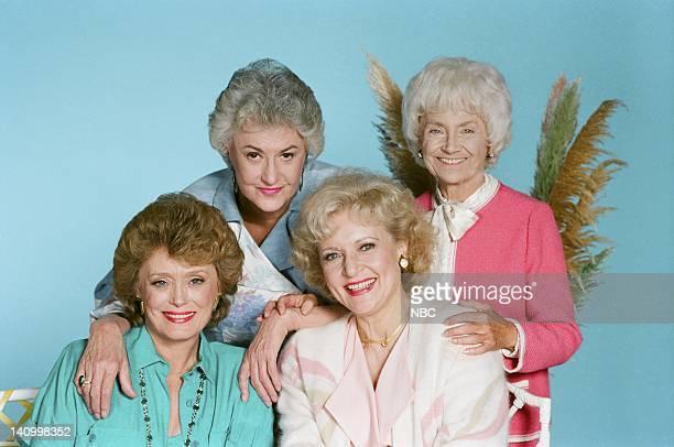 Rue McClanahan as Blanche Devereaux Bea Arthur as Dorothy Petrillo Zbornak Betty White as Rose Nylund Estelle Getty as Sophia Petrillo Photo by Ron...
