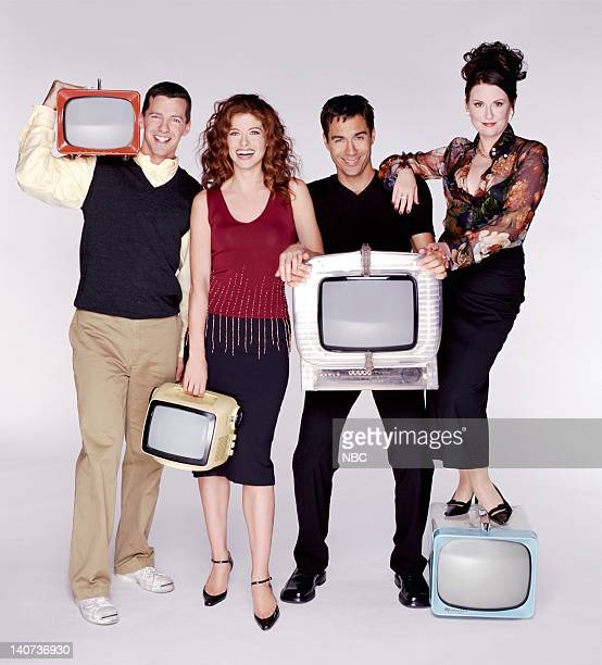 Sean Hayes as Jack McFarland Debra Messing as Grace Adler Eric McCormack as Will Truman Megan Mullally as Karen Walker Photo by Chris Haston/NBCU...