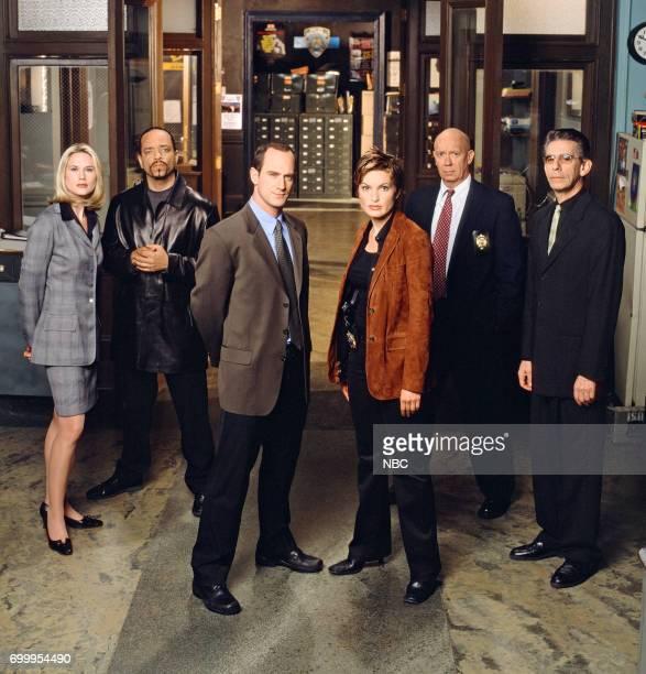 Stephanie March as ADA Alexandra Cabot IceT as Detective Odafin Fin Tutuola Christopher Meloni as Detective Elliot Stabler Mariska Hargitay as...