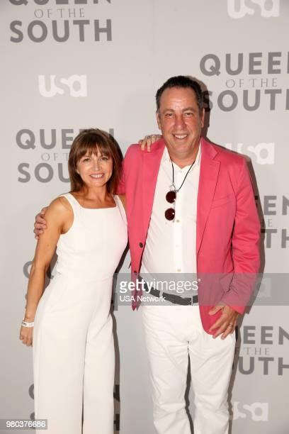 SOUTH Season 3 Premiere Event and Screening NeueHouse Hollywood in Los Angeles California Pictured Veronica Falcon Idalia Valles Molly Burnett Hemky...