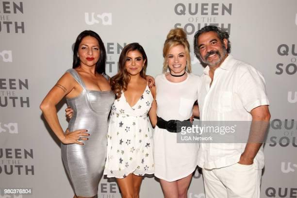 Season 3 Premiere Event and Screening - NeueHouse Hollywood in Los Angeles, California -- Pictured: Veronica Falcon, Idalia Valles, Molly Burnett,...