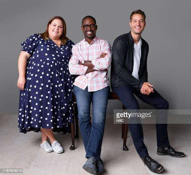 4 Pictured Chrissy Metz as Kate Pearson Sterling K Brown as Randall Pearson Justin Hartley as Kevin Pearson