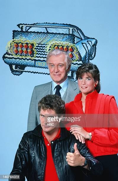 David Hasselhoff as Michael Knight Edward Mulhare as Devon Miles Patricia McPherson as Bonnie Barstow Photo by Gary Null/NBCU Photo Bank