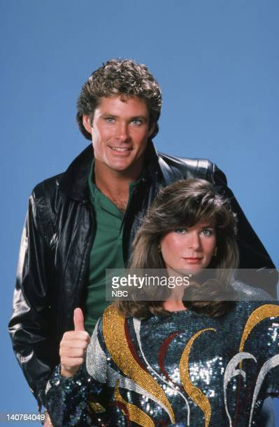 David Hasselhoff as Michael Knight Patricia McPherson as Bonnie Barstow Photo by Gary Null/NBC/NBCU Photo Bank
