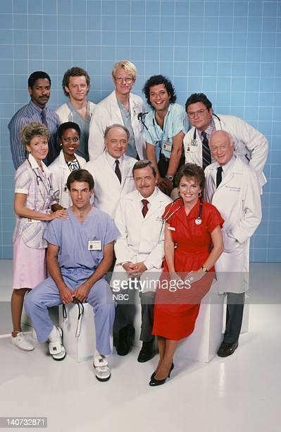 Season 4 -- Pictured: Denzel Washington as Dr. Phillip Chandler, David Morse as Dr. Jack 'Boomer' Morrison, Ed Begley Jr. As Dr. Victor Ehrlich,...