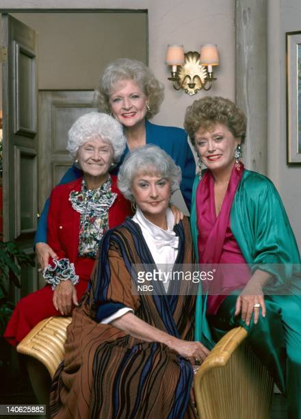 Estelle Getty as Sophia Petrillo Betty White as Rose Nylund Rue McClanahan as Blanch Devereaux Bea Arthur as Dorothy PetrilloZbornak Photo by Paul...