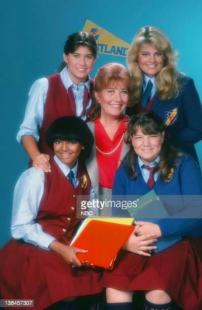 Kim Fields as Dorothy 'Tootie' Ramsey Mindy Cohn as Natalie Green Nancy McKeon as Joanne 'Jo' Polniaczek Charlotte Rae as Edna Garrett Lisa Whelchel...