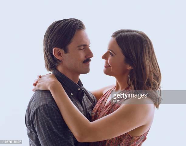 Pictured: Milo Ventimiglia as Jack Pearson, Mandy Moore as Rebecca --