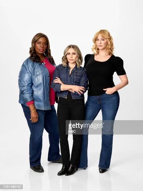 Pictured: Retta, Mae Whitman, Christina Hendricks --