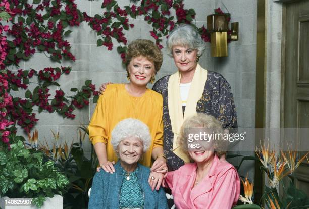 Rue McClanahan as Blanche Devereaux Bea Arthur as Dorothy Petrillo Zbornak Betty White as Rose Nylund Estelle Getty as Sophia Petrillo Photo by Paul...