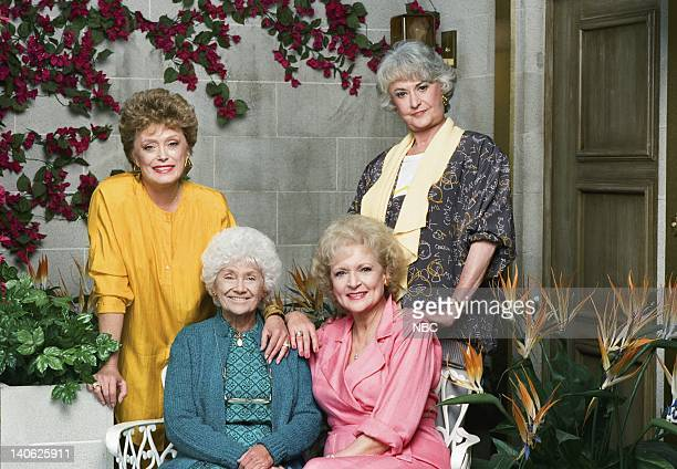Rue McClanahan as Blanche Devereaux Estelle Getty as Sophia Petrillo Betty White as Rose Nylund Bea Arthur as Dorothy Petrillo Zbornak Photo by Paul...