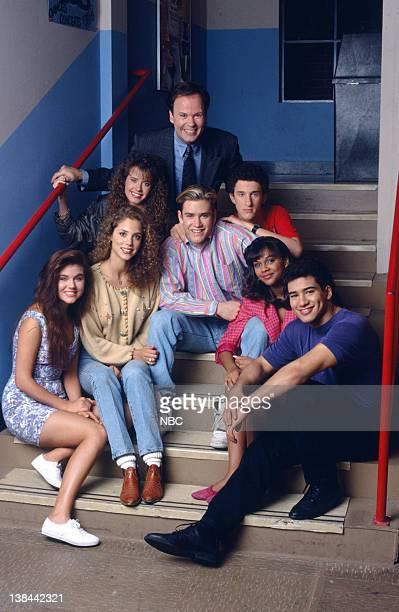 Tiffani Thiessen as Kelly Kapowski Elizabeth Berkley as Jessie Spano Leanna Creel as Tori Scott Dennis Haskins as Mr Richard Belding MarkPaul...