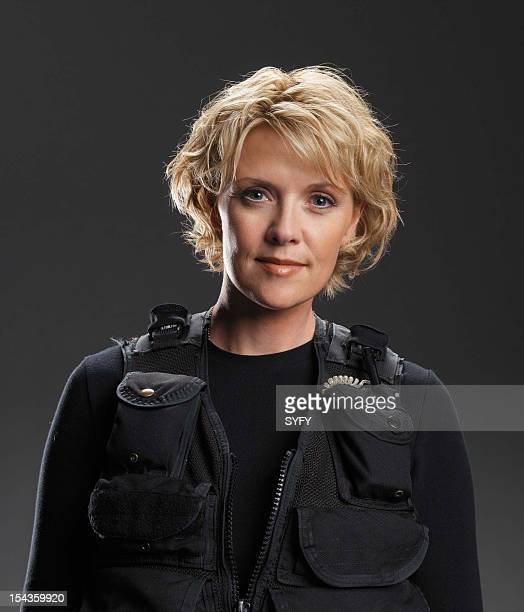 Amanda Tapping as Maj Samantha Carter