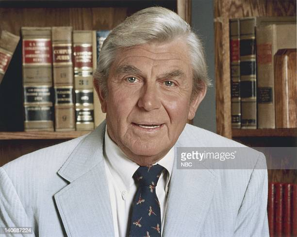 Andy Griffith as Benjamin Matlock Photo by NBCU Photo Bank