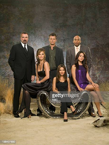 Back Row Tom Selleck as AJ Cooper Josh Duhamel as Danny McCoy James Lesure as Mike Cannon Front Row Molly Sims as Delinda Deline Vanessa Marcil as...