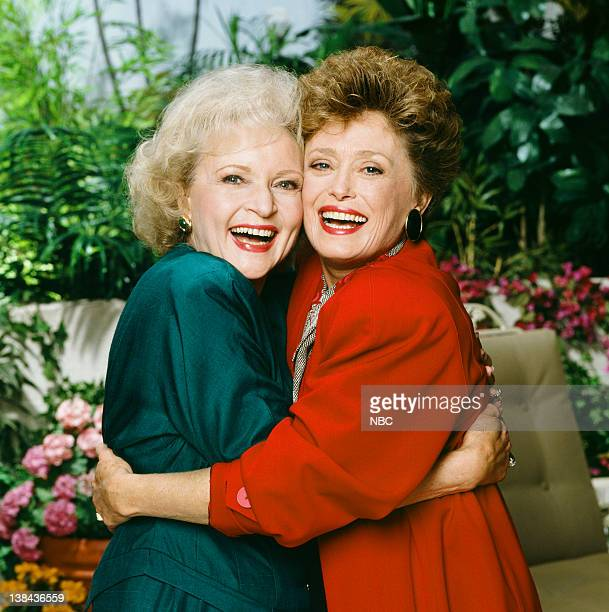 Betty White as Rose Nylund Rue McClanahan as Blanche Devereaux