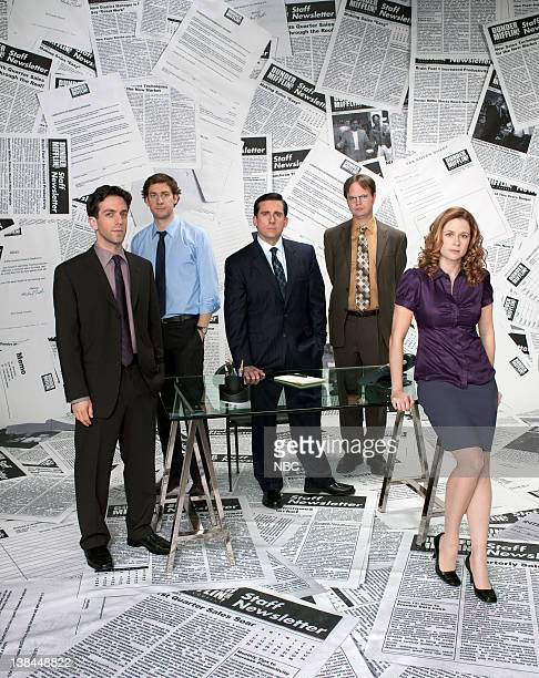BJ Novak as Ryan Howard John Krasinski as Jim Halpert Steve Carell as Michael Scott Rainn Wilson as Dwight Schrute Jenna Fischer as Pam Beesly