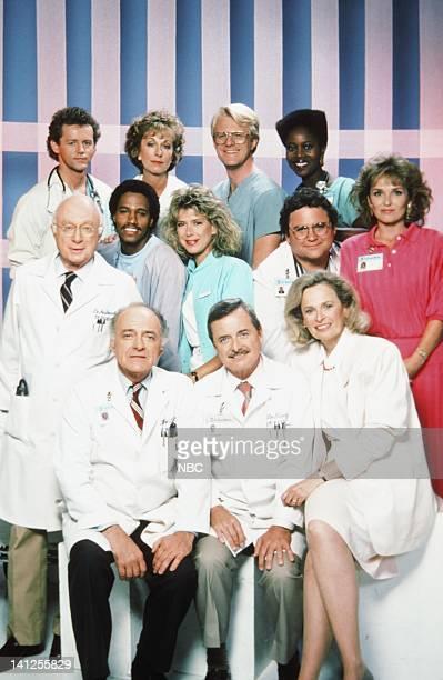 Season 5 -- Pictured: David Morse as Dr. Jack 'Boomer' Morrison, Christina Pickles as Nurse Helen Rosenthal, Ed Begley Jr. As Dr. Victor Ehrlich,...