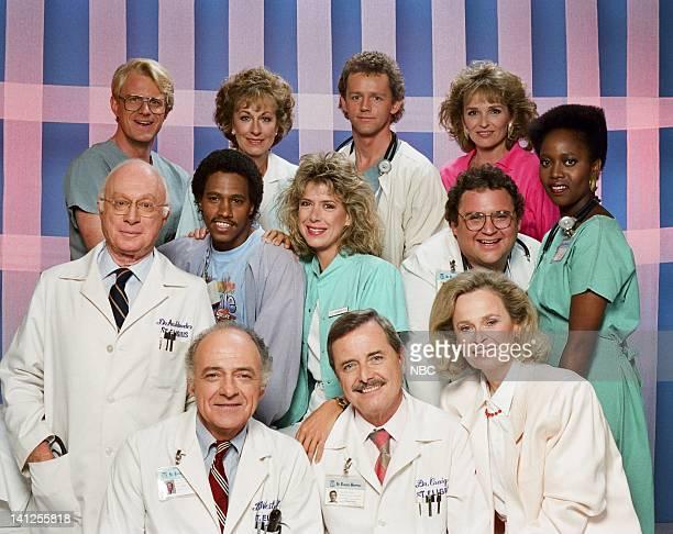 Season 5 -- Pictured: Ed Begley Jr. As Dr. Victor Ehrlich, Christina Pickles as Nurse Helen Rosenthal, David Morse as Dr. Jack 'Boomer' Morrison,...