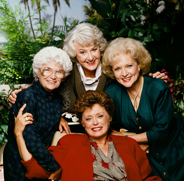 "USA: 14th September 1985 - ""The Golden Girls"" Debuts On NBC"