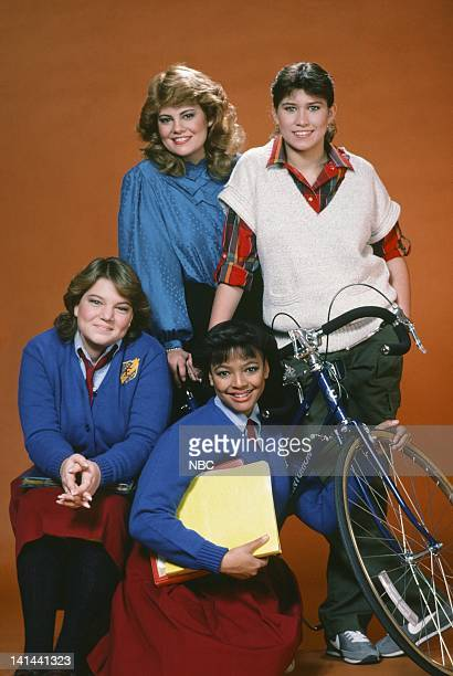 Lisa Whelchel as Blair Warner Nancy McKeon as Joanne 'Jo' Polniaczek Mindy Cohn as Natalie Green Kim Fields as Dorothy 'Tootie' Ramsey Photo by Frank...