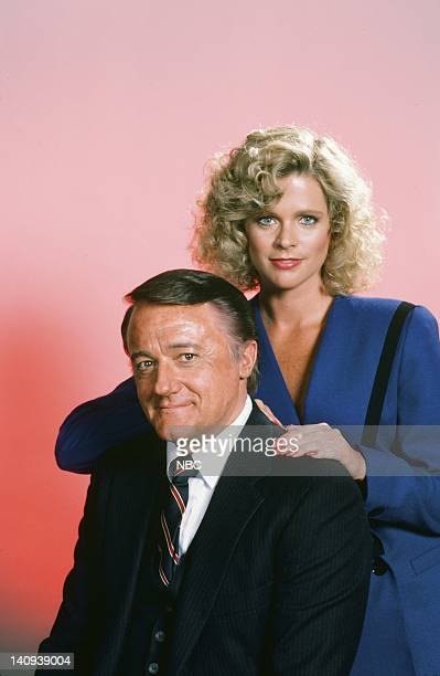 Robert Vaughn as General Hunt Stockwell Judith Ledford as Carla Photo by Gary Null/NBCU Photo Bank