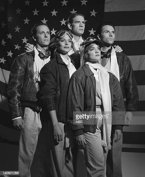 Steven Weber as Brian Michael Hackett Thomas Haden Church as Lowell Mather Tim Daly as Joe Montgomery Hackett Crystal Bernard as Helen Chapel Kim...