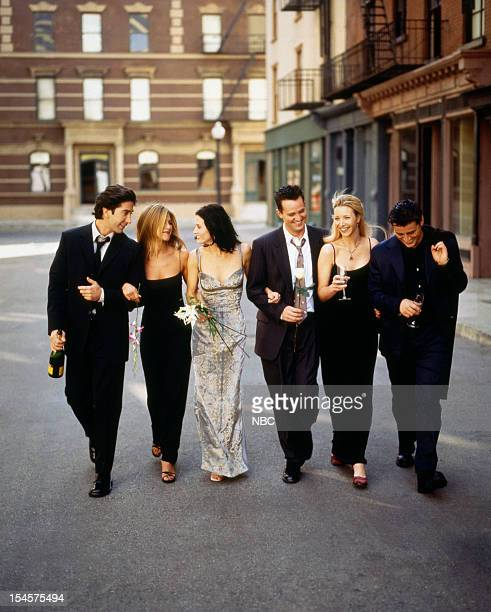 David Schwimmer as Ross Geller Jennifer Aniston as Rachel Green Courteney Cox as Monica Geller Matthew Perry as Chandler Bing Lisa Kudrow as Phoebe...