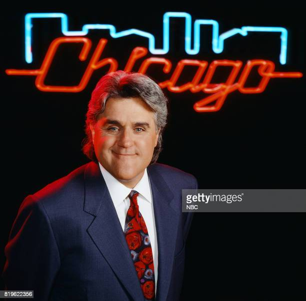 Season 6 -- Pictured: Host Jay Leno for the Tonight Show Chicago special --