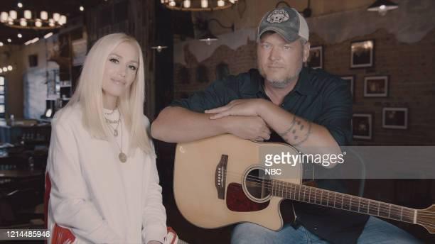 Season: 6 -- Pictured in this screen grab: Gwen Stefani, Blake Shelton --