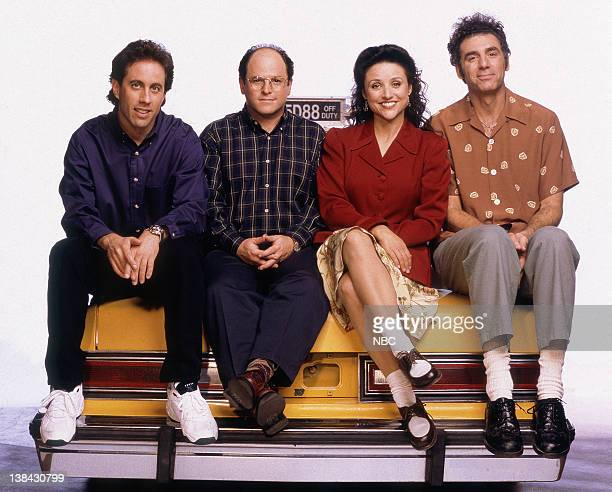 Jerry Seinfeld as Jerry Seinfeld Jason Alexander as George Costanza Julia LouisDreyfus as Elaine Benes Michael Richards as Cosmo Kramer