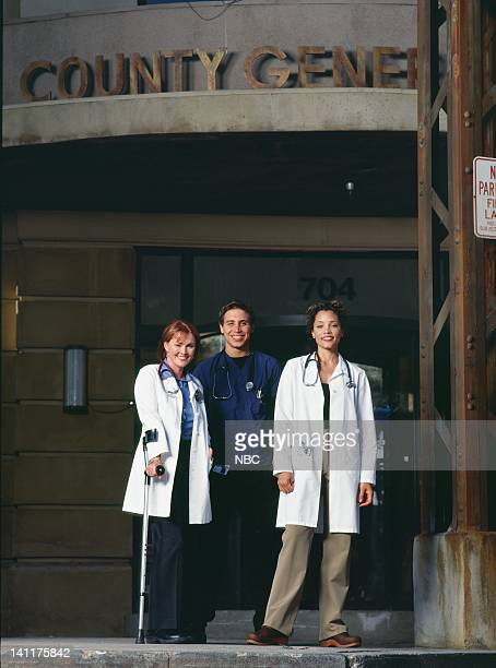 Laura Innes as Doctor Kerry Weaver Erik Palladino as Doctor Dave Malucci Michael Michele as Doctor Cleo Finch Photo by Paul Drinkwater/NBCU Photo Bank