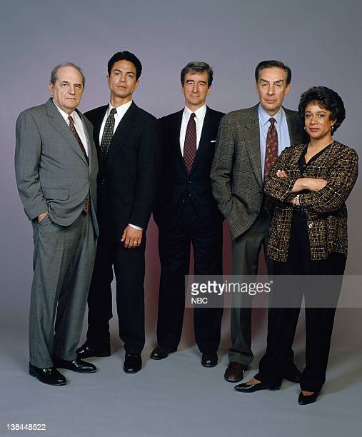 Michael Moriarty as Executive ADA Ben Stone Benjamin Bratt as Detective Rey Curtis Sam Waterston as Executive ADA Jack McCoy Jerry Orbach as...