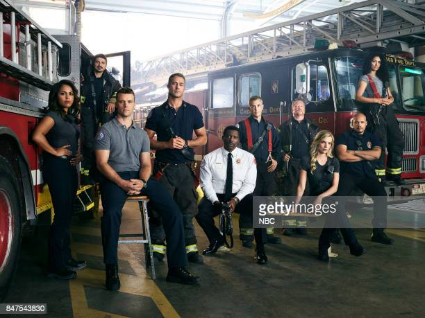 6 Pictured Monica Raymund as Gabriela Dawson Yuri Sardarov as Brian Zvonecek 'Otis' Jesse Spencer as Matthew Casey Taylor Kinney as Kelly Severide...