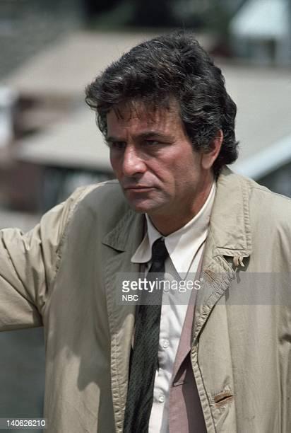 Peter Falk as Lt Columbo Photo by NBCU Photo Bank
