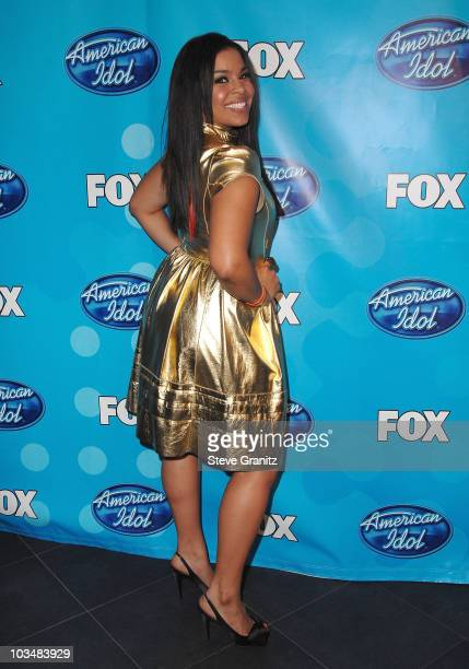 Season 6 winner Jordin Sparks in the press room at the American Idol Season 7 Grand Finale on May 21 2008 at the Nokia Theatre in Los Angeles...