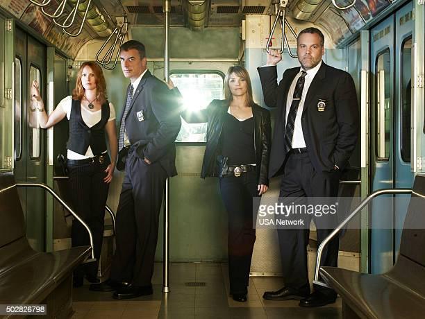 Alicia Witt as Detective Nola Falacci Chris Noth as Detective Mike Logan Kathryn Erbe as Detective Alexandra Eames Vincent D'onofrio as Detective...