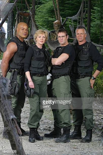 Christopher Judge as Teal'c Amanda Tapping as Maj Samantha Carter Michael Shanks as Dr Daniel Jackson Richard Dean Anderson as Colonel Jack O'Neill