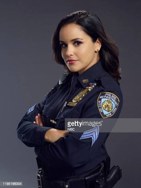 7 Pictured Melissa Fumero as Amy Santiago