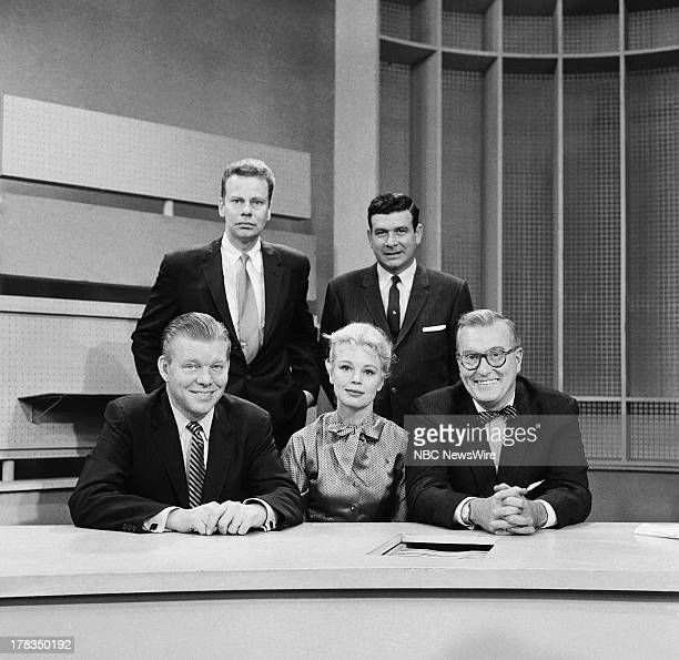 NBC News' Jack Lescoulie Betsy Palmer Dave Garroway NBC News' Charles Van Doren Frank Blair on September 24 1958