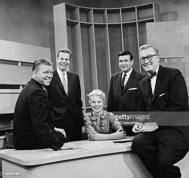 NBC News' Jack Lescoulie Charles Van Doren Betsy Palmer Frank Blair Dave Garroway on September 24 1958