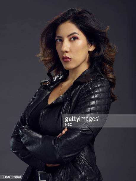 7 Pictured Stephanie Beatriz as Rosa Diaz