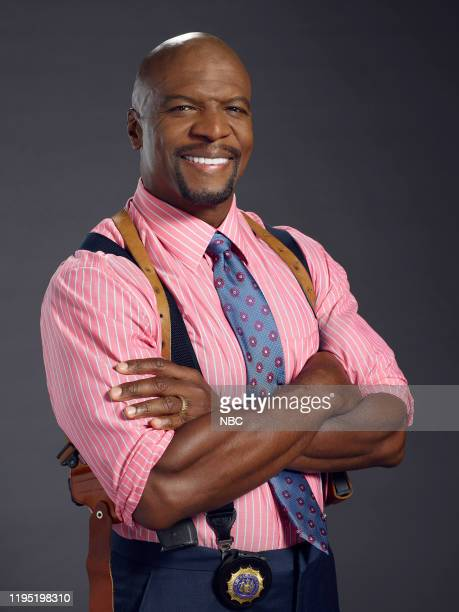 7 Pictured Terry Crews as Terry Jeffords