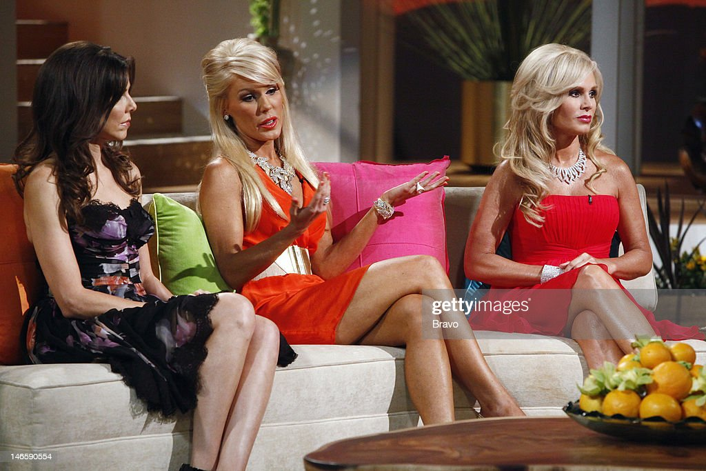 COUNTY -- 'Season 7 Reunion' -- Pictured: (l-r) Heather Dubrow, Gretchen Rossi, Tamra Barney --