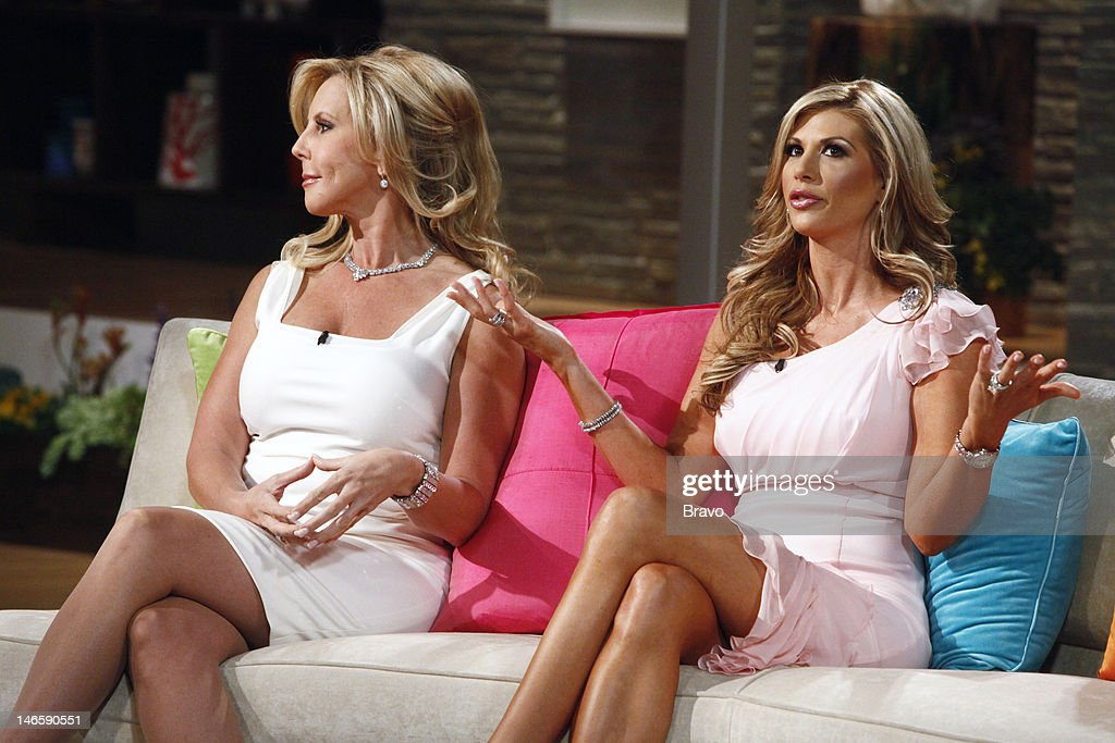 COUNTY -- 'Season 7 Reunion' -- Pictured: (l-r) Vicki Gunvalson, Alexis Bellino --
