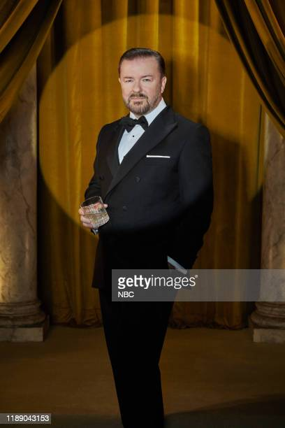 77 Pictured Ricky Gervais Host